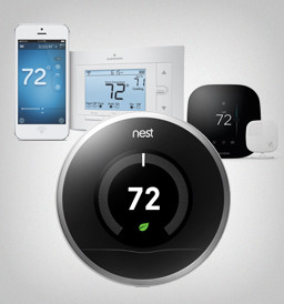 Digital and Programmable Thermostats by Consumers Energy Management