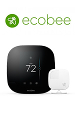Ecobee3 Smart Wi-Fi Thermostats