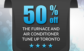 Get 50% OFF the Furnace and Air Conditioner Tune Up. Now is only $59.9 (Reg. $119.9) for Furnace or Air Conditioner Toronto